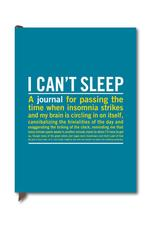 X - Journal: I Can't Sleep