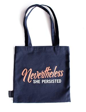 Tote Bag: She Persisted