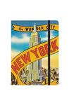 Notebook: NY Vintage Wonder City Notebooks & Pads