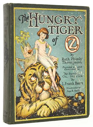 The Hungry Tiger of Oz Rare Books - Children