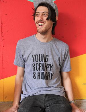 T-Shirt: Young Scrappy Hungry New Arrivals!