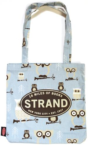 Tote Bag: Hooty Mist/Putty