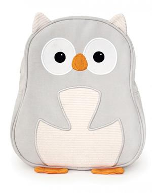 Backpack: White Owl Just for Kids
