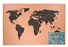 Corkboard: World Map Stationery