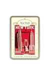 NY Carte Postale Postcard Tin Stationery