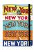 X - NY City Guide Notebook