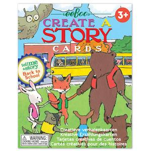 Back to School Create a Story Just for Kids