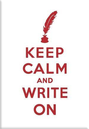 MAG: Keep Calm and Write On