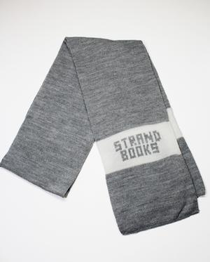 Scarf: Grey & White Strand