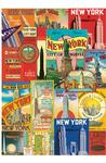 Wrap: NY Collage Wonder City Posters